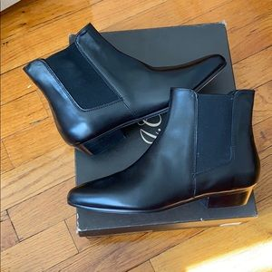 NWB Jcrew Chelsea boots leather size 6.5